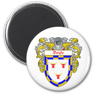 Escudo de armas de Doyle (cubierto) Imanes Para Frigoríficos