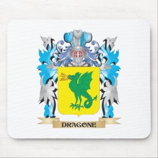 Escudo de armas de Dragone - escudo de la familia