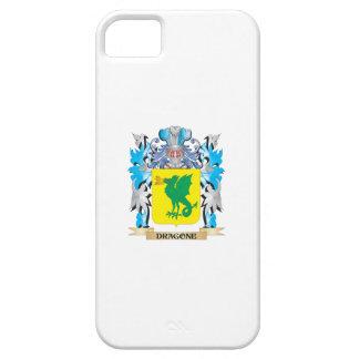 Escudo de armas de Dragone - escudo de la familia iPhone 5 Case-Mate Protectores