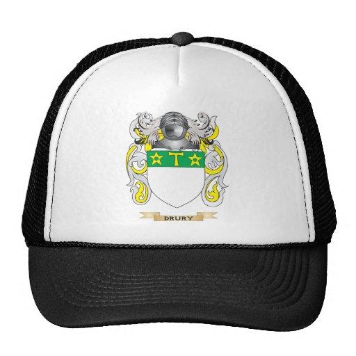 Escudo de armas de Drury Gorras De Camionero
