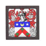 Escudo de armas de DuBois Caja De Regalo De Calidad