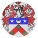 Escudo de armas de DuBois Plato De Cena