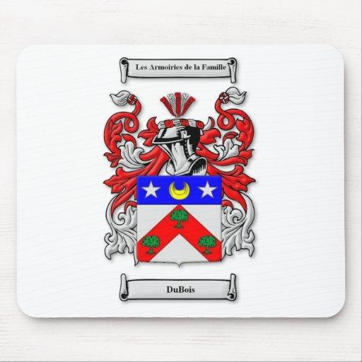 Escudo de armas de DuBois Tapetes De Ratón