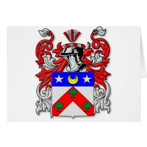 Escudo de armas de DuBois Tarjeta