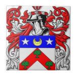 Escudo de armas de DuBois Teja Cerámica