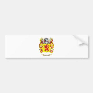 Escudo de armas de Duffin Etiqueta De Parachoque