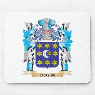 Escudo de armas de Dugan - escudo de la familia Alfombrilla De Ratón
