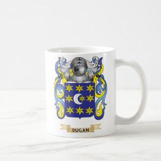 Escudo de armas de Dugan Taza De Café
