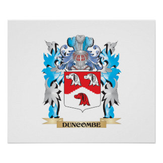 Escudo de armas de Duncombe - escudo de la familia