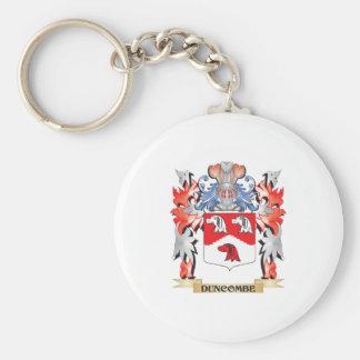 Escudo de armas de Duncombe - escudo de la familia Llavero Redondo Tipo Pin