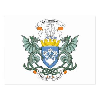 Escudo de armas de Dundee Tarjeta Postal