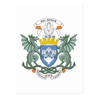 Escudo de armas de Dundee Tarjetas Postales