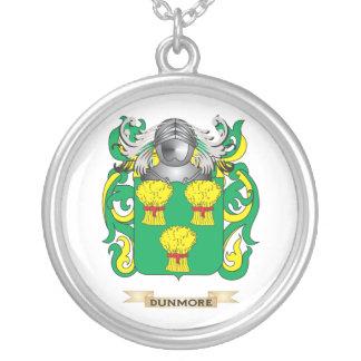 Escudo de armas de Dunmore Colgante Redondo
