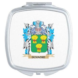 Escudo de armas de Dunmore - escudo de la familia Espejo De Viaje