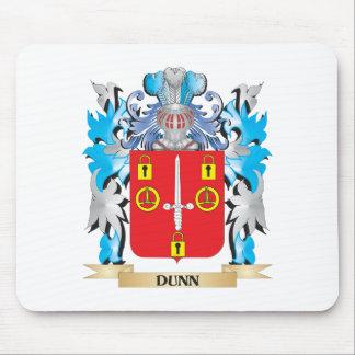 Escudo de armas de Dunn- - escudo de la familia Mouse Pad