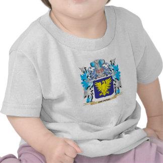 Escudo de armas de Dunne - escudo de la familia Camisetas