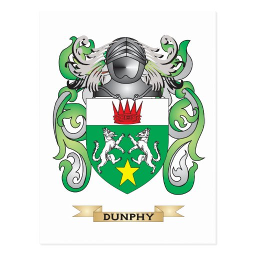 Escudo de armas de Dunphy Postal