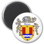 Escudo de armas de Duran/escudo de la familia (cub Iman Para Frigorífico