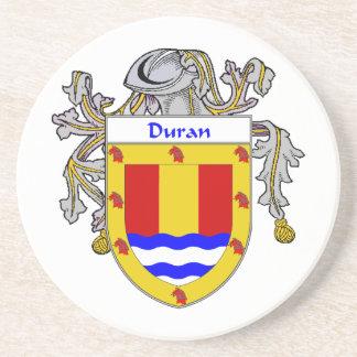 Escudo de armas de Duran/escudo de la familia Posavasos Cerveza