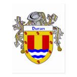 Escudo de armas de Duran/escudo de la familia Postal