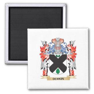 Escudo de armas de Durkin - escudo de la familia Imán Cuadrado
