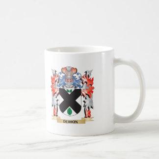 Escudo de armas de Durkin - escudo de la familia Taza De Café