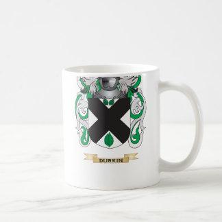 Escudo de armas de Durkin Taza De Café