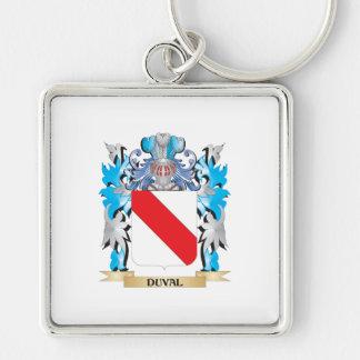 Escudo de armas de Duval - escudo de la familia