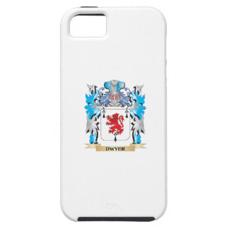 Escudo de armas de Dwyer - escudo de la familia iPhone 5 Fundas