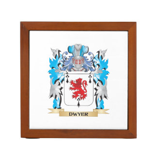 Escudo de armas de Dwyer - escudo de la familia Organizador De Escritorio