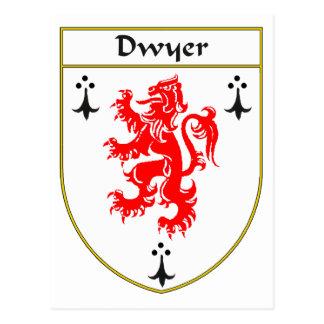 Escudo de armas de Dwyer/escudo de la familia Postales