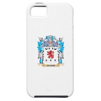 Escudo de armas de Dyson - escudo de la familia iPhone 5 Cárcasas