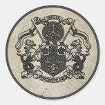 Escudo de armas de East la India Company Pegatina