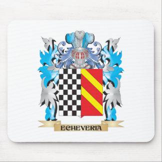 Escudo de armas de Echeveria - escudo de la Alfombrilla De Ratón