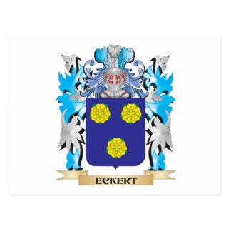 Escudo de armas de Eckert - escudo de la familia Postales