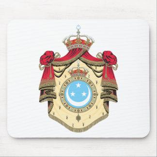 Escudo de armas de Egipto (1923-1958) Mousepads