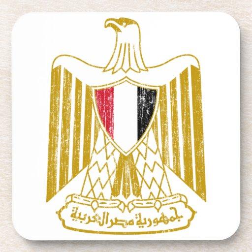 Escudo de armas de Egipto Posavasos De Bebidas