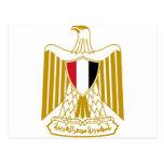 Escudo de armas de Egipto Postales