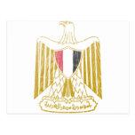 Escudo de armas de Egipto Tarjeta Postal