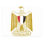 Escudo de armas de Egipto Tarjetas Postales