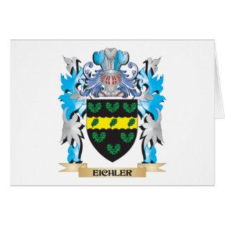Escudo de armas de Eichler - escudo de la familia Tarjeta Pequeña
