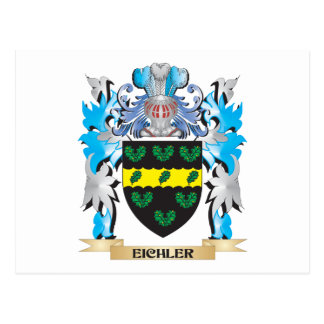 Escudo de armas de Eichler - escudo de la familia Postal