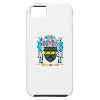 Escudo de armas de Ek - escudo de la familia iPhone 5 Funda