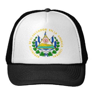 Escudo de armas de El Salvador Gorro De Camionero