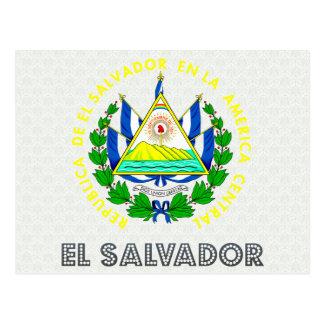 Escudo de armas de El Salvador Tarjetas Postales