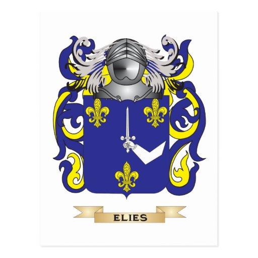 Escudo de armas de Elies Tarjetas Postales