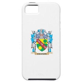 Escudo de armas de Emerson - escudo de la familia iPhone 5 Cobertura
