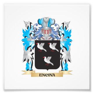 Escudo de armas de Encina - escudo de la familia Arte Con Fotos