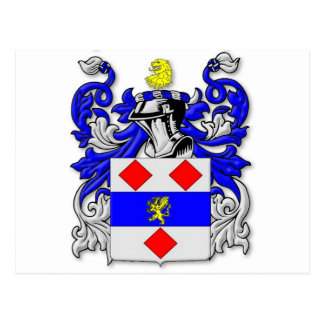 Escudo de armas de Endecott Tarjetas Postales