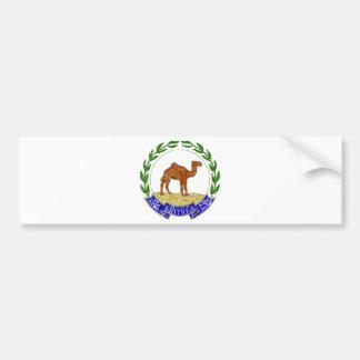 Escudo de armas de Eritrea Pegatina Para Auto